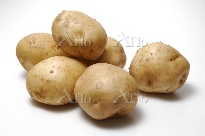 6個の男爵芋