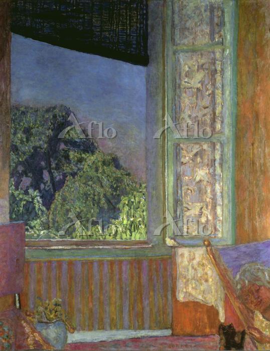 ピエール・ボナール 「開いている窓」