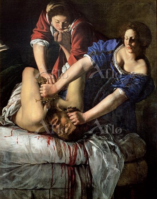 アルテミジア・ジェンティレスキ 「ホロフェルネスの首を斬るユ・・・