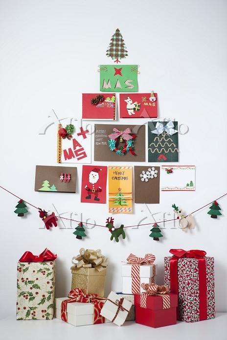 Christmas tree built with Chri・・・