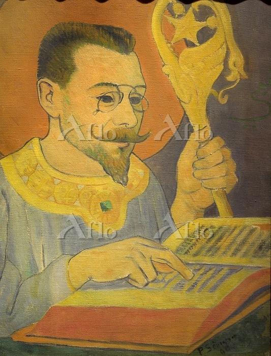 ポール・セリュジエ 「ポール・ランソンの肖像」