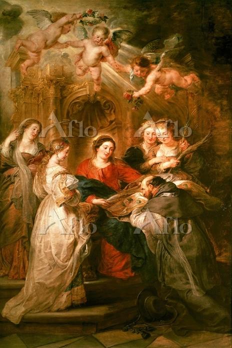 ルーベンス「聖イルデフォンソ祭壇画」