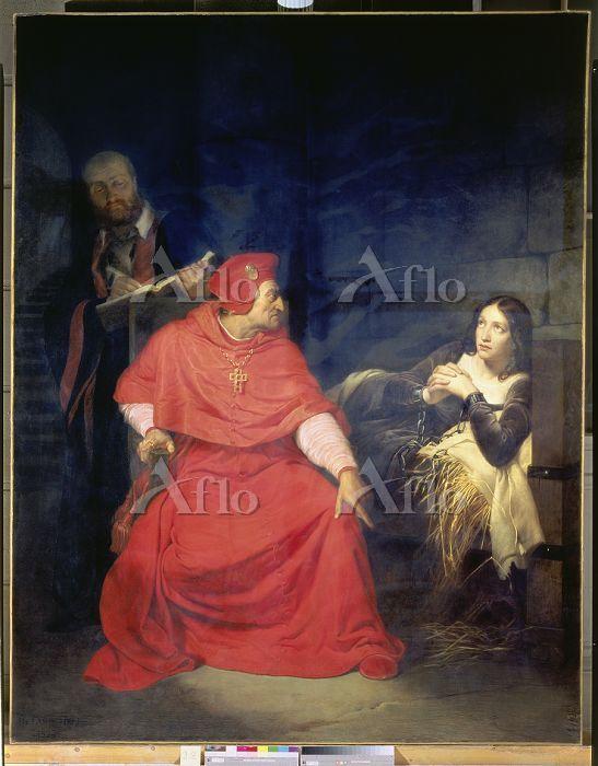 ポール・ドラローシュ「ウィンチェスター卿の尋問を受ける牢獄の・・・