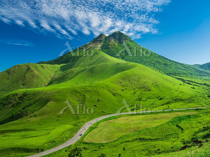 大分県 由布岳とやまなみハイウェイ