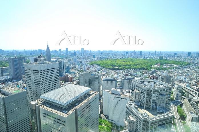東京都 新宿から六本木・お台場方面の展望