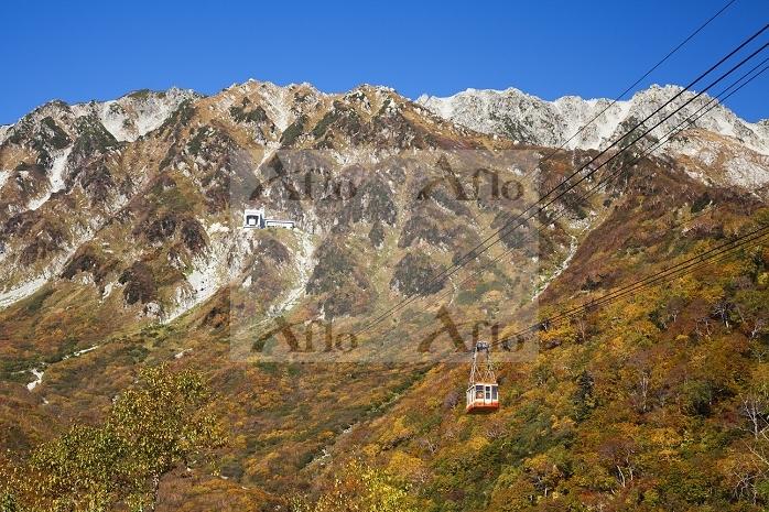 富山県 立山アルペンルート (客車の更新前)
