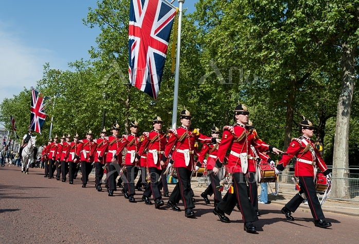 イギリス ロンドン 衛兵交代