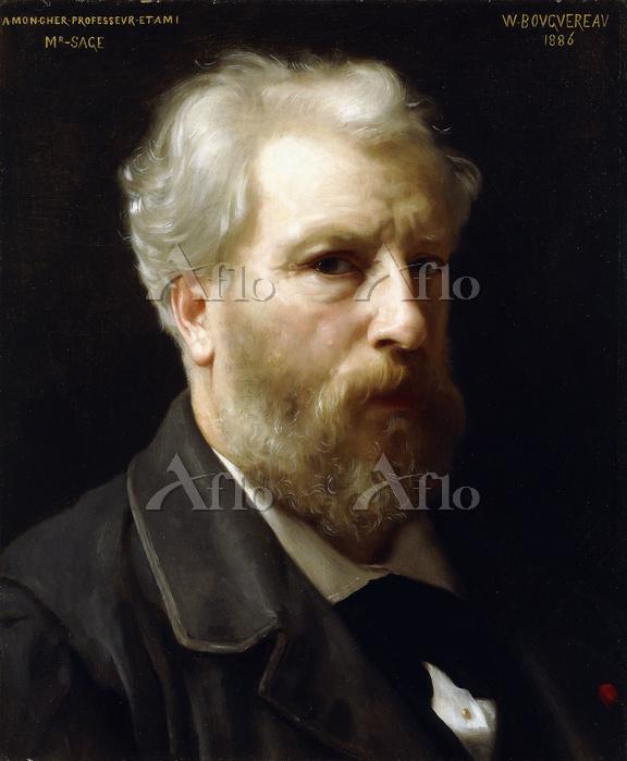ウィリアム・アドルフ・ブグロー 「自画像」