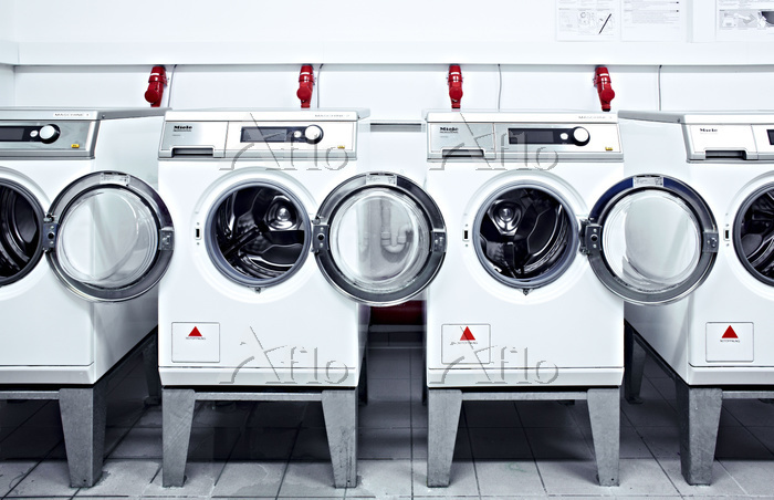 Launderette, Photo by Georg Tu・・・