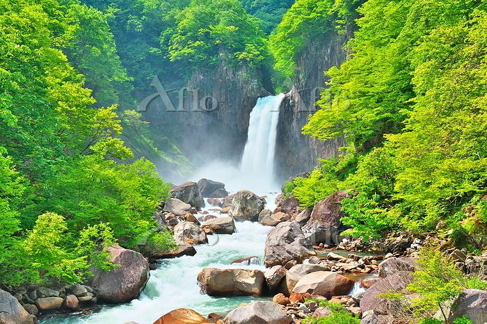 新潟県 長野県 苗名滝
