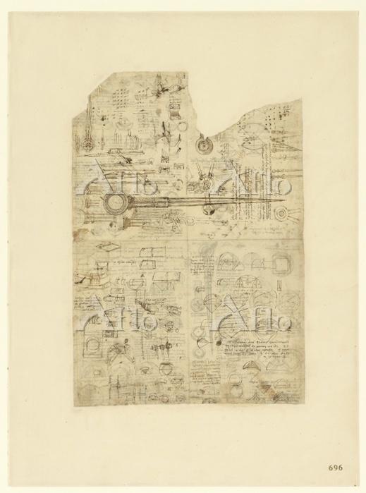 レオナルド・ダ・ヴィンチ 「アトランティコ手稿」