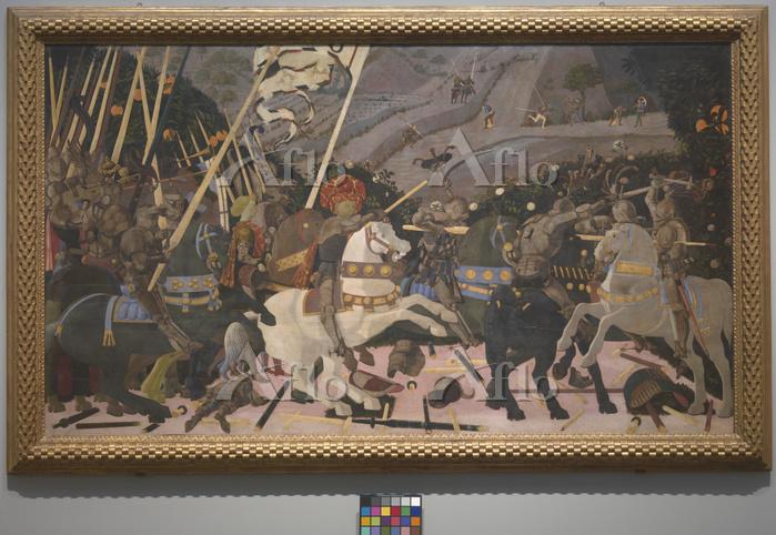 パオロ・ウッチェロ 「サン・ロマーノの戦い」