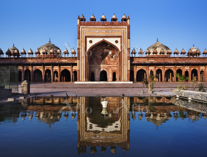 インド ジャーミ・マスジド(金曜モスク)