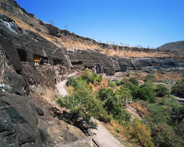 インド アジャンタ石窟