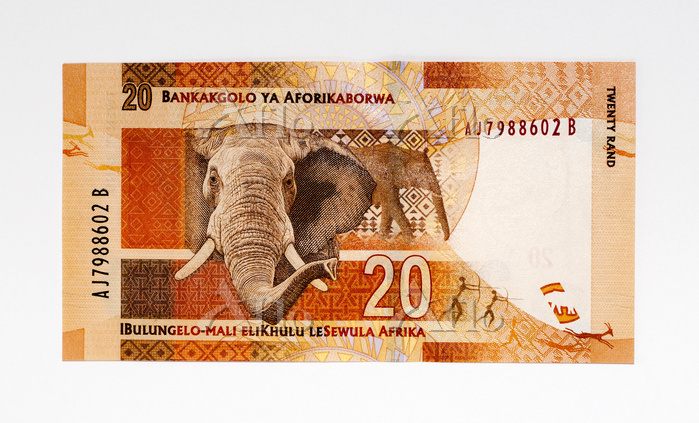 南アフリカ紙幣 20ランド