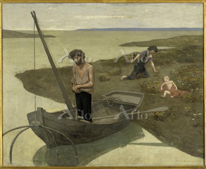 シャヴァンヌ 「貧しき漁夫」