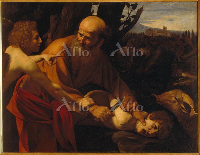 カラヴァッジョ 「イサクの犠牲」