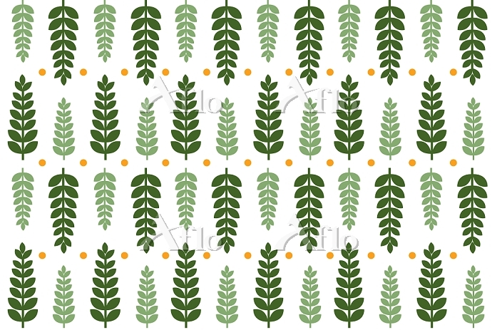Illustration of leaves in a ro・・・