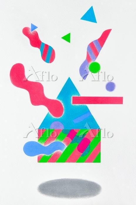 抽象図形#6