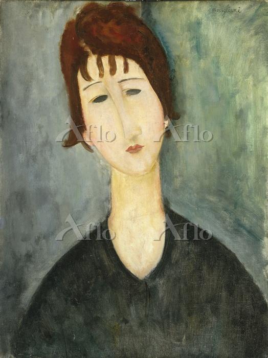 アメデオ・モディリアーニ 「女の肖像」