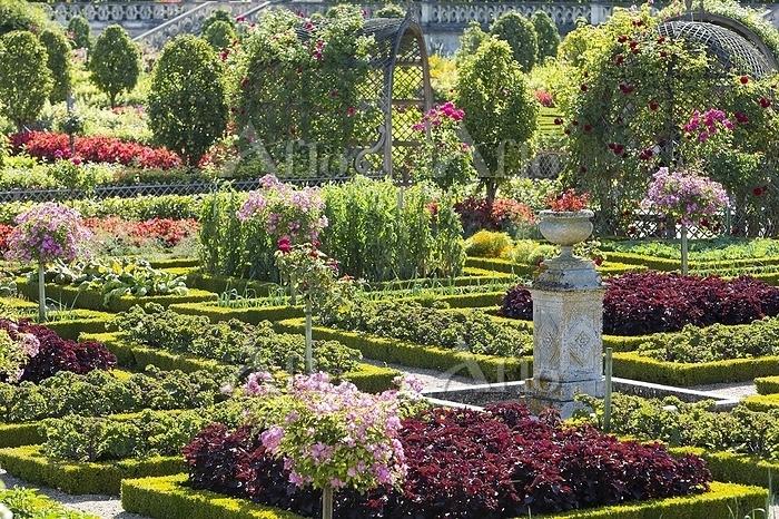 フランス ヴィランドリー城の庭園