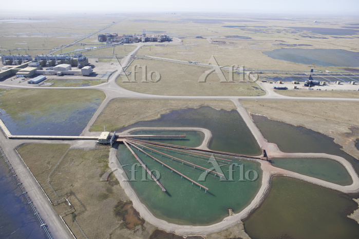 Aerial View, Oil Production, P・・・