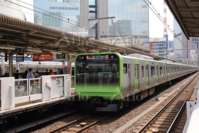 東京都 有楽町 JR山手線 新型車輛E235系