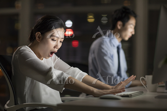 Young business people working ・・・