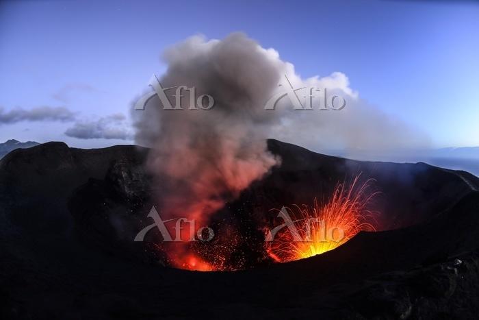 Eruption, volcanic eruption, t・・・