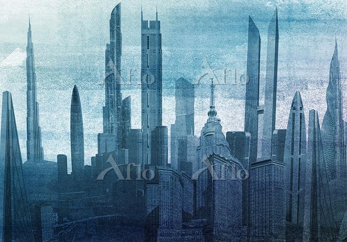 Modern cityscape skyscraper ar・・・