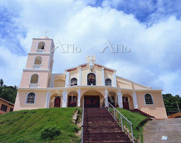 ミクロネシア・チューク州 チューク教会