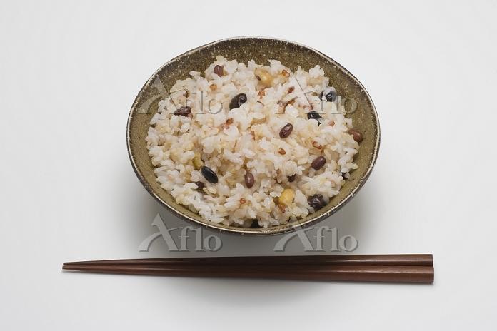 八穀ご飯(20%)