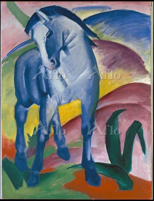 フランツ・マルク 「青い馬Ⅰ」