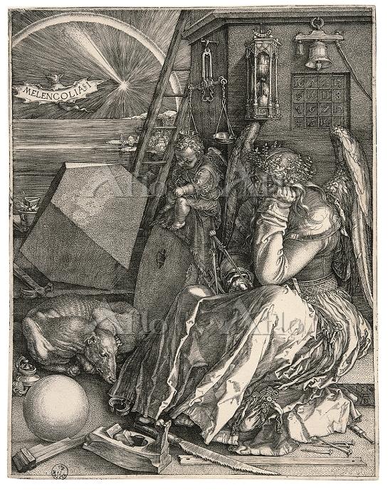アルブレヒト・デューラー 「メランコリア I」