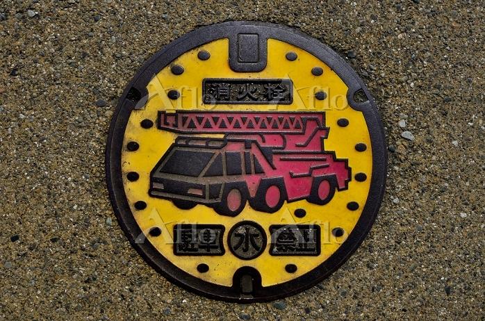 大分県竹田市 消火栓蓋