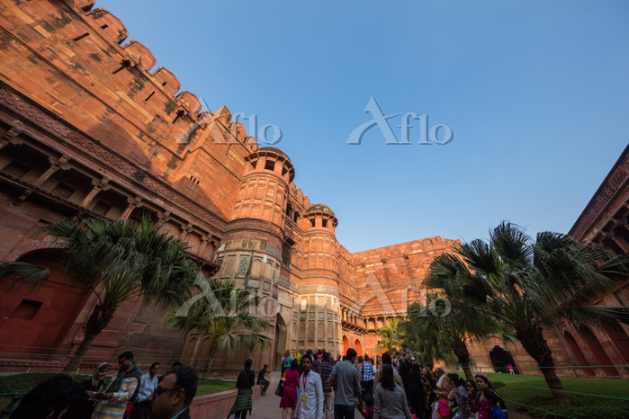 インド アーグラー城
