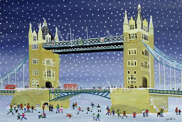 Tower Bridge: Skating on Thin ・・・