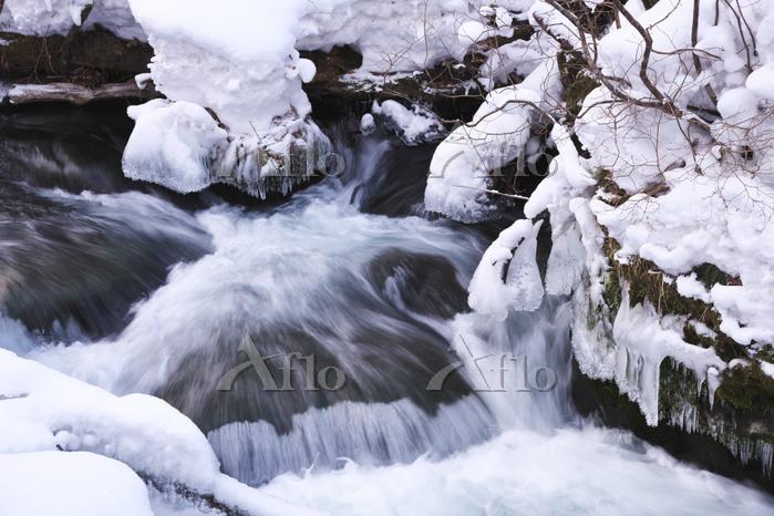青森県 奥入瀬渓流 石ヶ戸の瀬