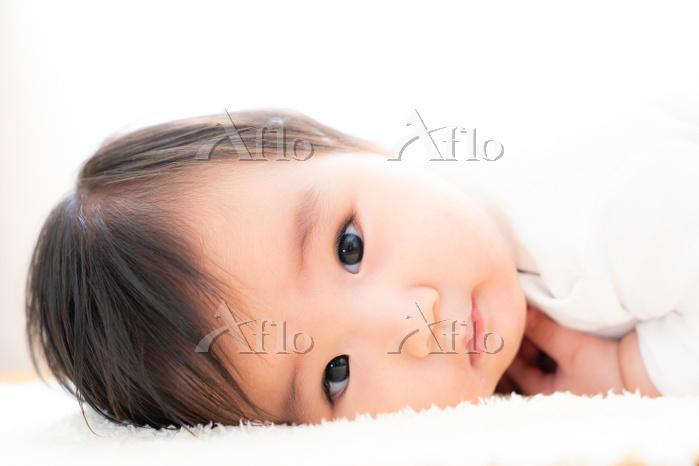 生後6ヶ月の男の赤ちゃん