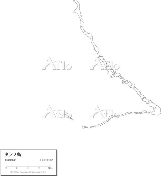 タラワ 白地図