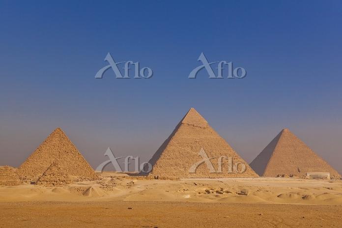 エジプト ギザ 3大ピラミッド