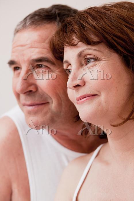 外国人のシニア夫婦