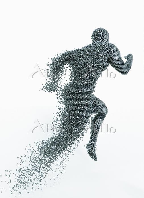 Running man breaking up into c・・・