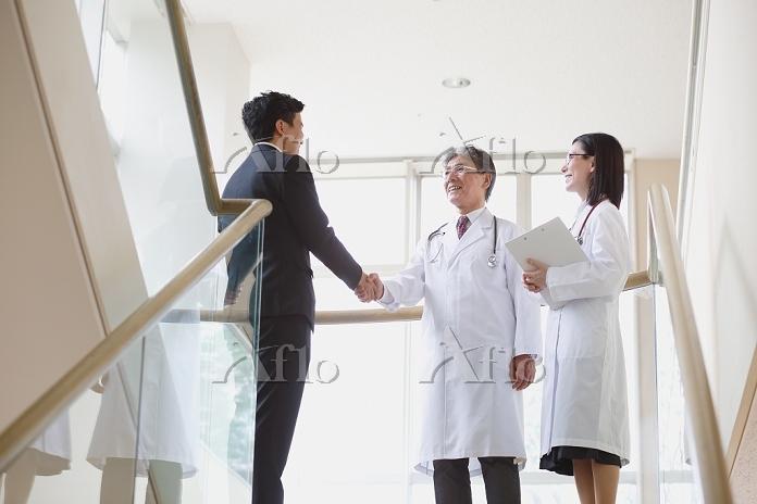 営業マンと医者