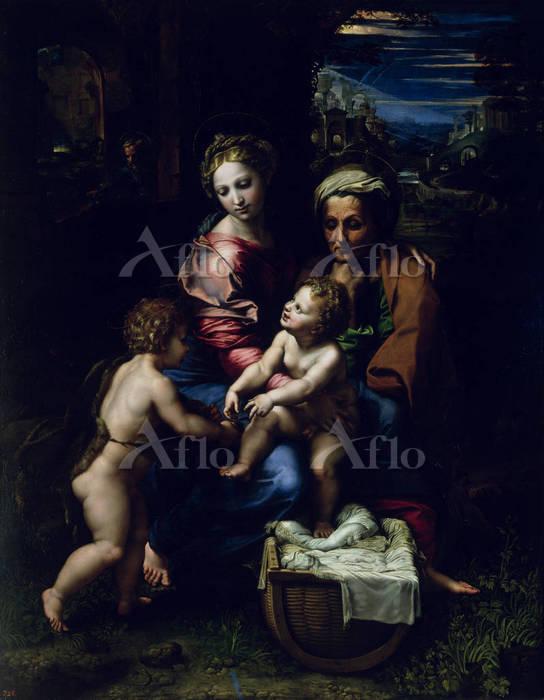 ラファエロ 「聖家族(真珠)」