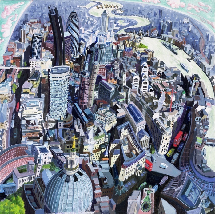 The City, 2008 (oil on canvas)