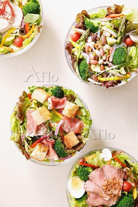 サラダ集合イメージ