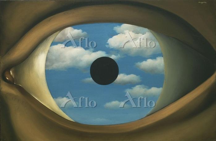 ルネ・マグリット「偽りの鏡」