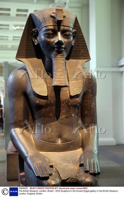 大英博物館 古代エジプト 彫刻 イギリス