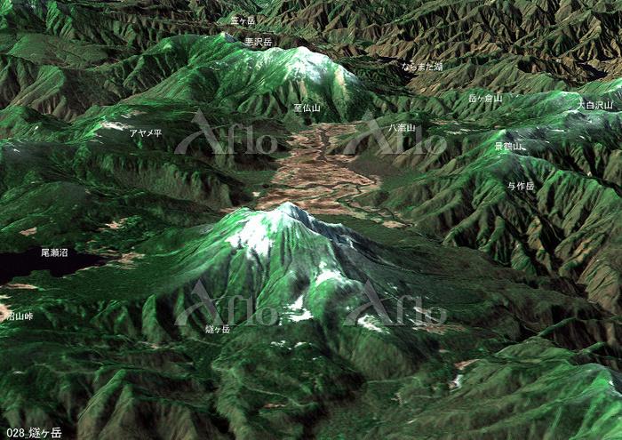 燧ヶ岳とその周辺の山々 日本百名山 尾瀬
